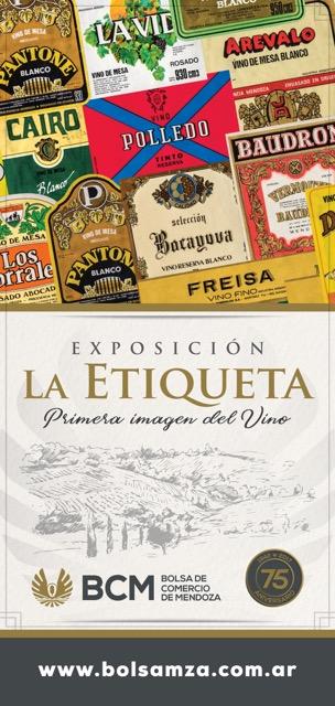 muestra etiquetas vino